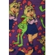 LuLaRoe Disney Irma (3Xl) Kermit and Miss Piggy Purple