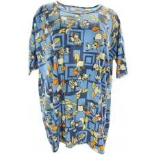LuLaRoe Disney Irma (Large) Donald On Blue