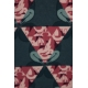 LuLaRoe Disney Irma (Medium) Pink Blue Mickey