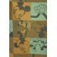 LuLaRoe Disney Irma (Medium) Brown Blue Mickey Minnie