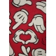 LuLaRoe Disney Irma (Medium) Red Hands of Mickey