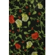 LuLaRoe Irma (Large) Flowers on Black 3