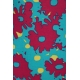 LuLaRoe Irma (Medium) Red Blue Flowers