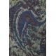 LuLaRoe Irma (Medium) Blue Paisley on Gray