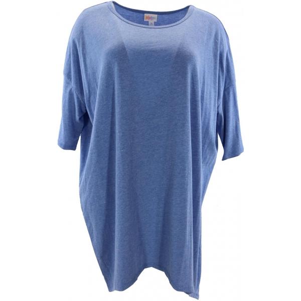 LuLaRoe Irma (XL) Solid Blue