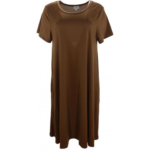 LuLaRoe Jessie (Large) Solid Brown