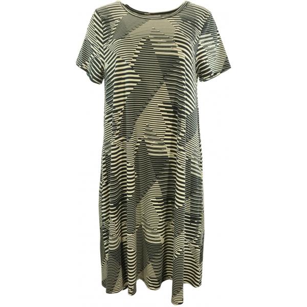 LuLaRoe Jessie (Large) Black and white patterns