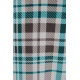 LuLaRoe Jessie (Medium) Plaid Blue Gray White