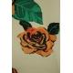 LuLaRoe Jessie (Small) Orange roses on white
