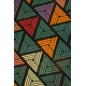 LuLaRoe Julia (2XS) multi-colored triangles