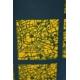 LuLaRoe Julia (Small) Blue Yellow Patterns
