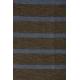 LuLaRoe Julia (XL) Brown Blue Stripes