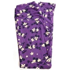 LuLaRoe Leggings (OS) Disney Old Mickey on Purple