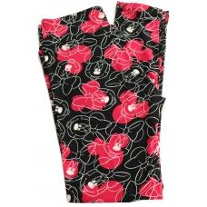LuLaRoe Leggings (OS) Disney Mickey Black and pink