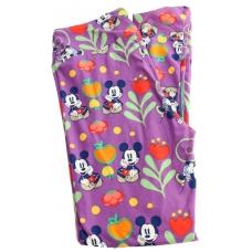 LuLaRoe Leggings (OS) Disney Fruit and Mickey on Purple