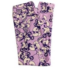 LuLaRoe Leggings (OS) Disney Mickey on purple
