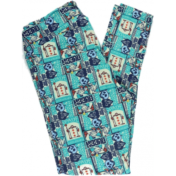 LuLaRoe Leggings (TC) Disney #173