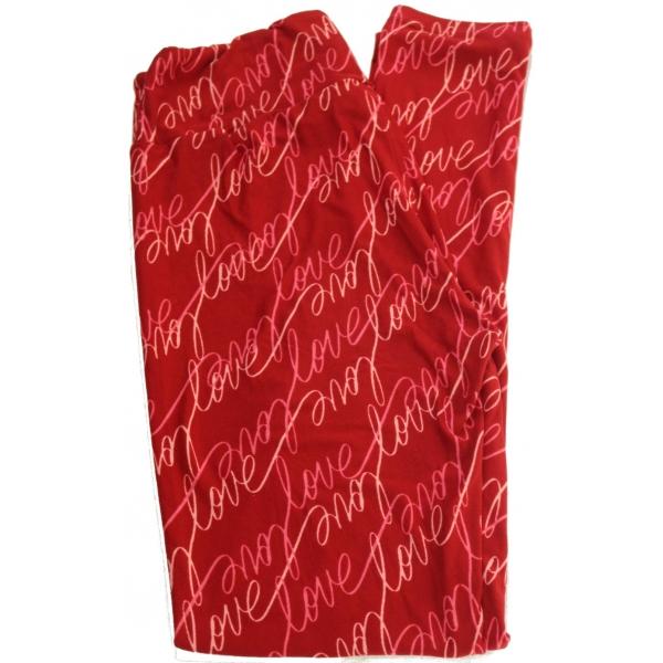 LuLaRoe Leggings (OS) #617 Valentines