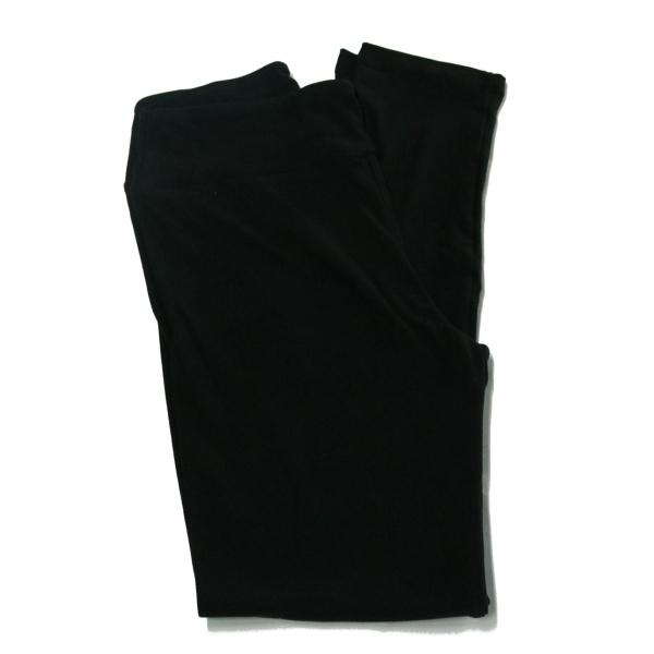 LuLaRoe Leggings (OS) Solid Black (NOIR) Collection