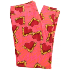 LuLaRoe Leggings (TC) #487 Valentines