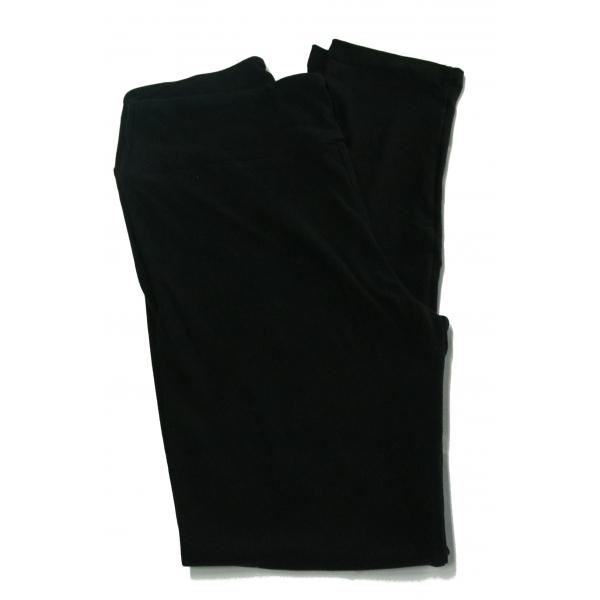 LuLaRoe Leggings (TC2) Solid Black (NOIR) Collection