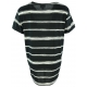LuLaRoe Liv (Medium) Black and white stripes