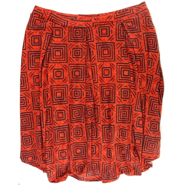 LuLaRoe Madison (3XL) Black LLR on Orange