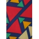 LuLaRoe Mae (12) Multicolored Triangles