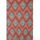 LuLaRoe Mae (12) Blue patterns on Pink