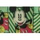 LuLaRoe Disney Mae (10) Mickey on Striped Green