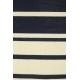 LuLaRoe Mark (Medium) blue and white stripes