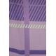 LuLaRoe Nicki (Medium) Stripes on Purple