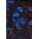 LuLaRoe Nicole (2XS) flowers on blue