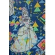 LuLaRoe Disney PerfectT (3XL) Belle on Blue