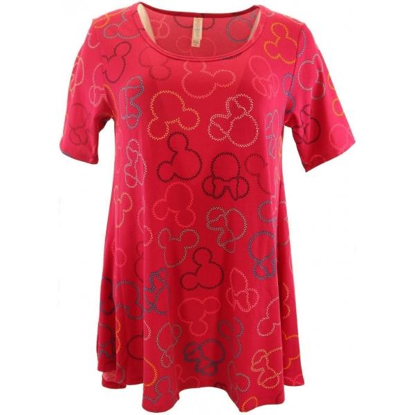 LuLaRoe Disney PerfectT (XS) Minnie Red