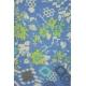 LuLaRoe PerfectT (large) Patterns Flowers on Blue