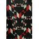 LuLaRoe PerfectT (large) Black Red Gray Patterns