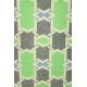 LuLaRoe PerfectT (Medium) Green and gray patterns