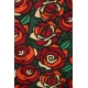 LuLaRoe PerfectT (Medium) Red flowers with Green