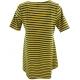 LuLaRoe PerfectT (Medium) Black and yellow stripes