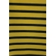 LuLaRoe PerfectT (Medium) Black and yellow stripes
