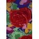 LuLaRoe PerfectT (XS) Red Flowers