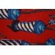 LuLaRoe Randy (2XS) Firecrackers on Red