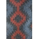 LuLaRoe Randy (3XL) red blue patterns