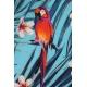 LuLaRoe Randy (3XL) Parrots on Blue