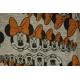 LuLaRoe Disney Randy (XS) Minnie with Orange on gray