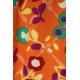 LuLaRoe Randy (Large) Flowers on orange 2
