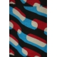 LuLaRoe Randy (Medium) Red Blue Black Patterns