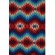 LuLaRoe Randy (Medium) Red White Blue Patterns 2