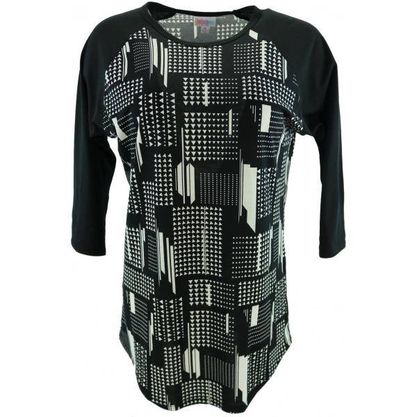LuLaRoe Randy (Medium) Black and white Patterns